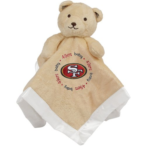 NFL San Francisco 49ers Baby Fanatic Snuggle Bear at Amazon.com