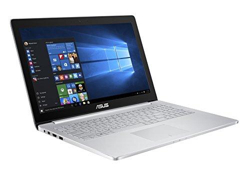 """ASUS UX501VW 15.6"""" TOUCH SCREEN i7 2.6GHz RAM 16GB-SSD 512GB-GEFORCE GTX 960M-WIN 10 PROF ITALIA SILVER (90NB0AU1-M04120)"""