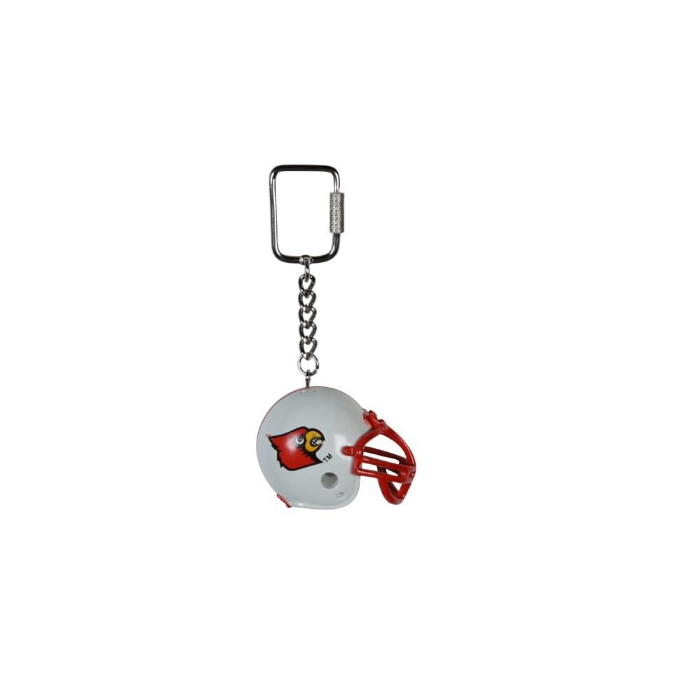 NCAA Louisville Cardinals Lil Brat Football Helmet Keychain