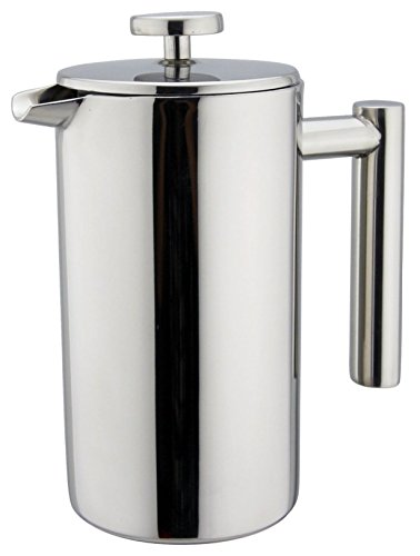 YAMO Premium Coffee French Press - Best Selling Double Wall Stainless Steel French Coffee Press, 1 Liter (Premium French Press compare prices)