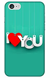 love Designer Printed Back Case Cover for Apple iPhone 7