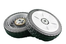"""Honda Genuine OEM 8"""" Rear Wheel (Set of 2)"""