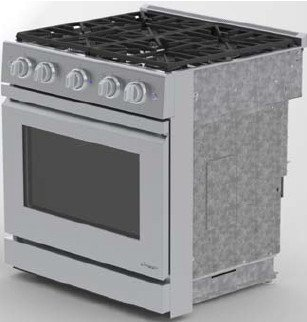 "Dacor Distinctive 30"" Stainless Steel Freestanding Gas Range"