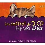 echange, troc Henri Dès - Coffret 3 CD : Henri Des /Vol.1