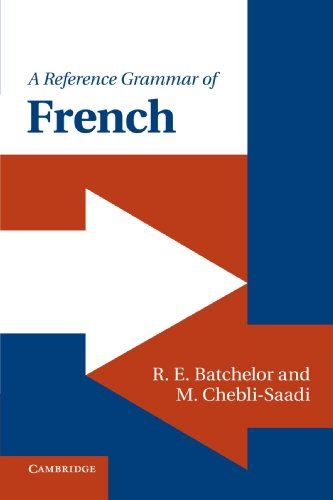 A Reference Grammar of French (Reference Grammars)