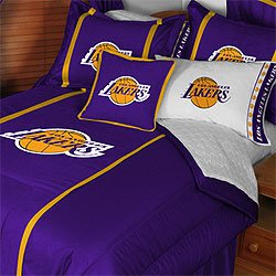 Amazon.com: NBA Los Angeles Lakers Bedding Set - Comforter Sheets Full