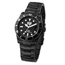 "Zerone Crossover Bounty Hunter ""BxH 01"" Black Analogue Watch"