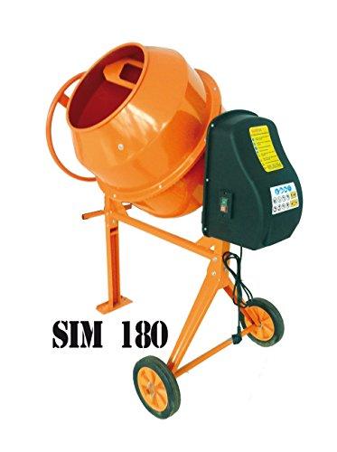 BETONMISCHER-ELECTRIC-SIMBA-SIM-180-180L-850W-230V-neuen-Betonmischer-MIXER-Modell-180-SIM