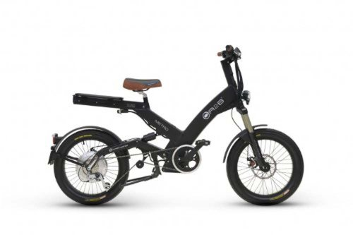 A2B Light Metro Matte Black Electric Road Sport Bike Vehicle Motor Bicycle