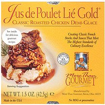 More Than Gourmet Classic Roasted Chicken Demi Glace