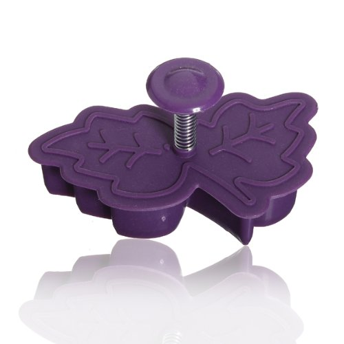 Stereo Diy Cartoon Leaves Shape Cookie Cake Mold front-385364