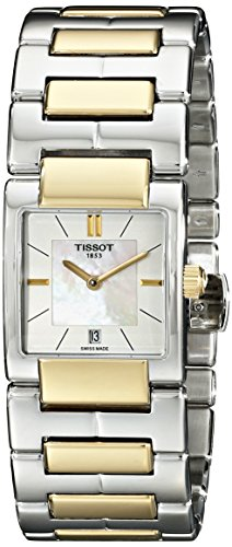 Tissot Women's TIST0903102211100 T2 Analog Display Swiss Quartz Two Tone Watch