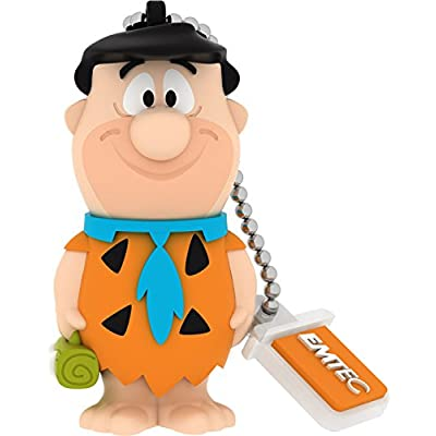 EMTEC Flintstones 8 GB USB 2.0 Flash Drive, Fred
