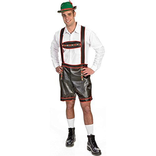 Adult Men's Bavarian Lederhosen Costume (Size:44)