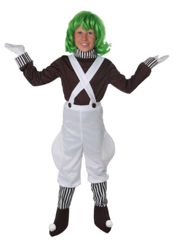 Big Boys' Kids Chocolate Factory Worker Costume