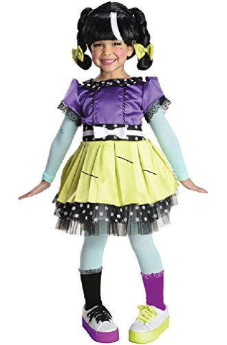 [8eighteen Lalaloopsy Deluxe Scraps Stitched 'N' Sewn Toddler/Child Costume] (Lalaloopsy Adult Costumes)