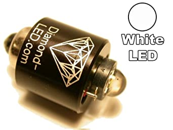 Diamond 3 Watt Luxeon Led Flashlight Bulb Replacement For