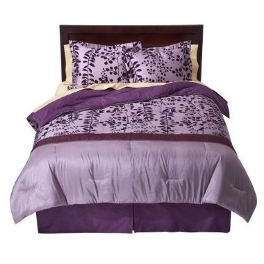 Bella Swan's purple comforter set from Twilight movies