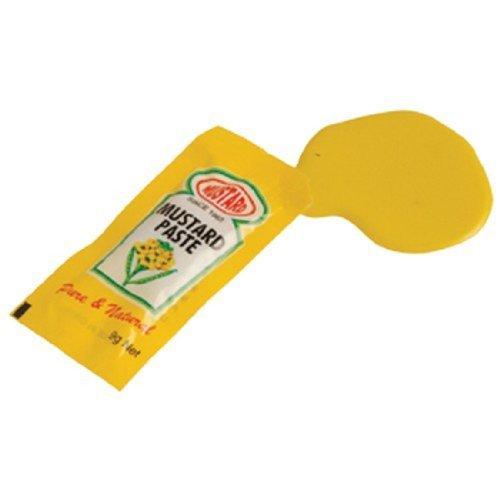 Fake Trick Gag Spilled Mustard Packet Practical Joke - 1
