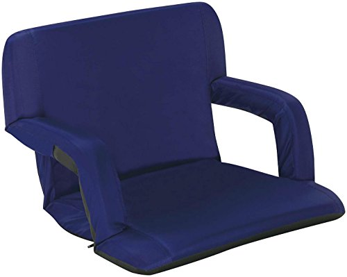 Naomi Home Venice Portable Reclining Seat With Armrest Royal Blue Standard