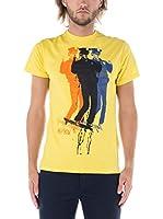 Nike Hurley Camiseta Manga Corta On Duty (Amarillo)