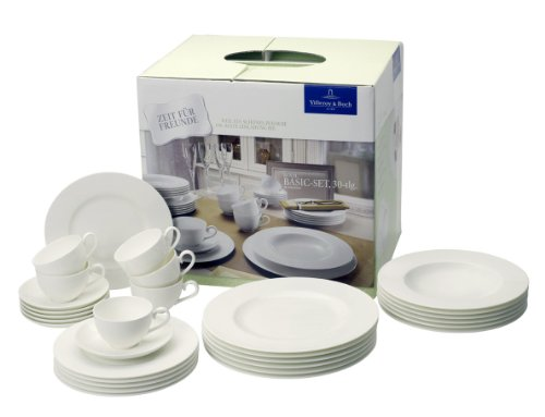 Villeroy u0026 Boch Royal White 30-Piece Dinnerware Set Service for 6 Review  sc 1 st  Blogger & Fine Dinnerware Sets Grand