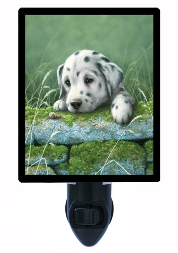 Dog Night Light - Dalmatian Puppy front-1006351