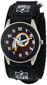 Game Time Mid-Size NFL-ROB-WAS Rookie Washington Redskins Rookie Black Series Watch