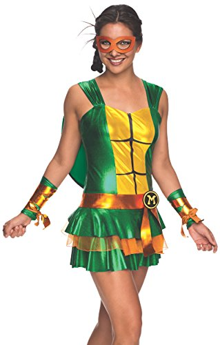 Secret Wishes Women's Teenage Mutant Ninja Turtles Michelangelo
