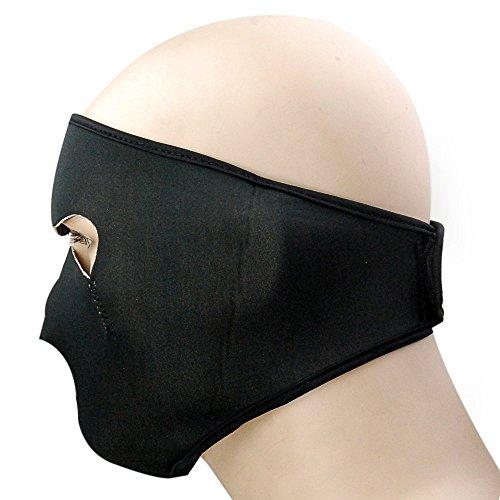 1x Reversible Warm Black Tribal Skull Neoprene Full Face Mask Facemask Headwear Outdoor Sport Ski Skiing Snowmobile Snowboard Face Shield Guards