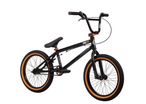 Kink 2014 Kicker BMX Bike, Matte Black, Toptube: 18-Inch