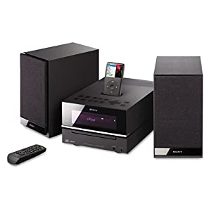 Sony CMTBX20i Micro Hi-Fi Shelf System (Black) (Discontinued by Manufacturer)
