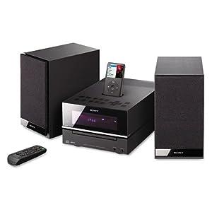 Sony Products - Sony - CMT-BX20i 50w Micro Hi-Fi Shelf System, Black