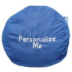 Personalized Childs Bean Bag - Color Denim from Ababy