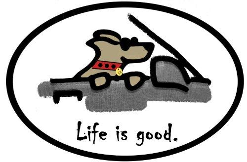 aufkleber-autoaufkleber-jdm-die-hart-life-is-good-bumper-sticker-cool-dog-oval-car-decal-127mmx88mm
