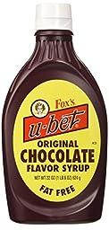 Fox\'s U-bet 22-oz. Original Chocolate Syrup (Pack of 3)