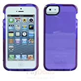 Tech21 Impact Shell Case for Apple iPhone 5/5S - Purple (Used - Non Retail)