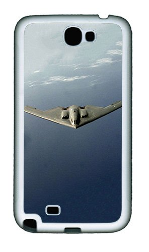 Imartcase Samsung Galaxy Note 2 Case, B2 Spirit Us Air Force Case For Samsung Galaxy Note 2 N7100 Tpu - White