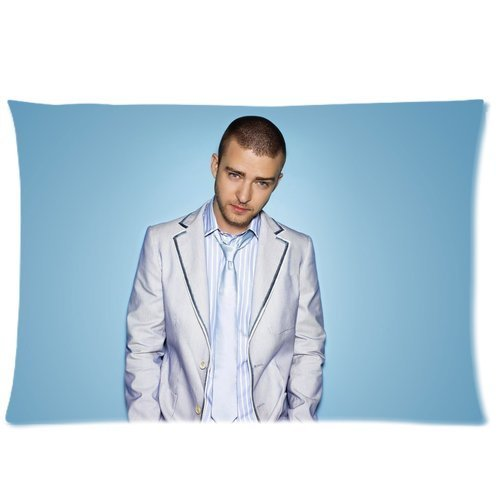 Cartrol Cotton & Polyester Custom Pillowcase- Custom Justin Timberlake Pillowcase Standard 20X30 (One Side) Pillow Cover Plc-1576 front-832753