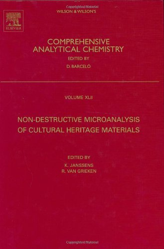Non-Destructive Micro Analysis Of Cultural Heritage Materials, Volume 42 (Comprehensive Analytical Chemistry)