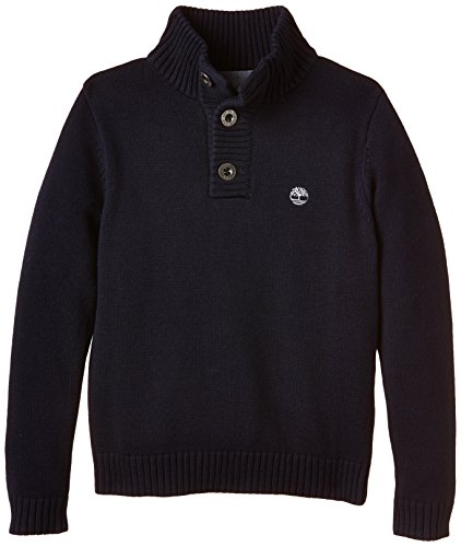 Timberland-Boys-Plain-or-unicolor-Button-Front-Long-sleeve-Jumper