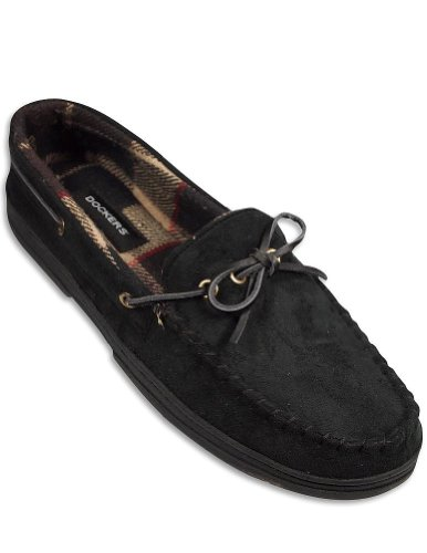 Cheap Dockers – Mens Mocassin Slipper, Black 29242 (B00874ILNE)