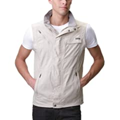 Buy Columbia Silver Ridge Vest (Small, Fossil) by Columbia