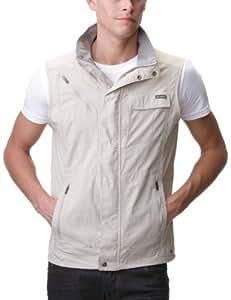 Columbia Men's Silver Ridge Vest, Fossil, X-Small