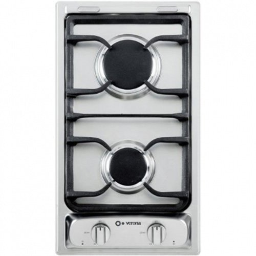 Verona VEGCT212FSS 12 Gas Cooktop - Stainless Steel