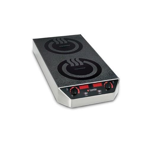 Cook-Tek Mc3502F Countertop Commercial Induction Cooktop, 200-240V/1, Each