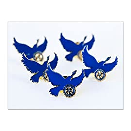 Rotary Peace Centers Pins (Set of 100)