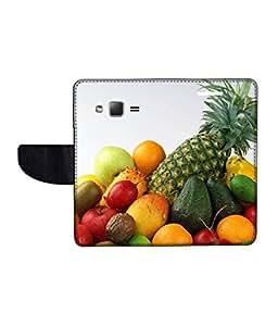 KolorEdge Printed Flip Cover For Samsung Galaxy Z1 Multicolor - (43KeMLogo11325SamZ1)
