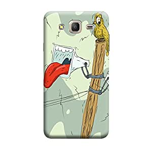 iCover Premium Printed Mobile Back Case Cover With Full protection For Samsung On7 (Designer Case)