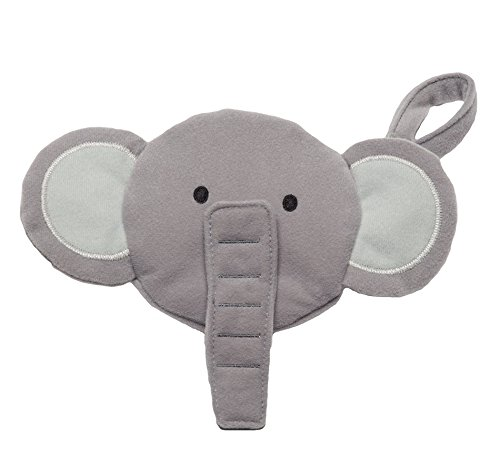 J.L. Childress Pacifier Pal Pacifier Pocket, Elephant